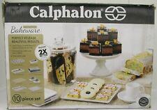 CALPHALON PERFECT RELEASE NONSTICK 10 PIECE BAKEWARE SET- SSS 152