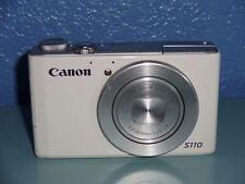 Canon PowerShot S110 12.1 MP Digital Camera - White