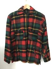 Fabulous 40s /50s Vintage Men's Pure Wool Plaid Hunting Jacket/Coat