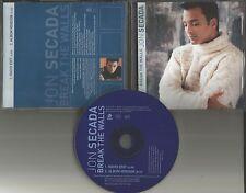 JON SECADA Break the Walls w/ RARE EDIT PROMO Radio DJ CD single 2000 USA MINT