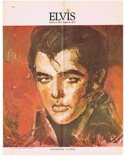 MANIFESTO POSTER ELVIS PRESLEY HOLLYWOOD STAR by CABADA 1977