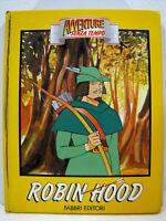"Mark Twain ""Robin Hood"" 1a edizione 1990 Fabbri editore"