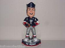 Pat The Patriot New England Patriots Mascot Bobble Head Super Bowl Xlix Champs