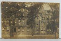 RPPC Street Scene Homes PHILADELPHIA PENNSYLVANIA 1908 To Lancaster Postcard P9