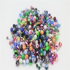 5pcs Mixed Steel Navel Belly Rings Bars Body Piercing Jewellery Body Jewellery