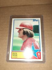 PETE ROSE All Star 1983 Topps Baseball # 397 Philadelphia Phillies vintage
