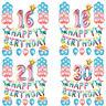 Multicolore Fournitures de Fêtes Soirée Joyeux Anniversaire 16 18 21 30 Ballon