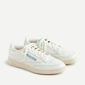 New Reebok Men's Club C 85 Vintage Shoes Men's Size 10 Off White / Beige