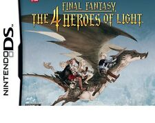 Final Fantasy: The 4 Heroes of Light Nintendo DS, DSI, 2DS, 3DS , XL BRAND NEW