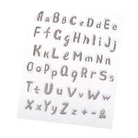 Buchstaben Transparente Silikonstempel Gummi durchsichtiger Stempel für DIY