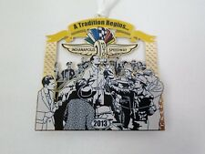 2013 Indianapolis Motor Speedway Christmas Brass Collector Ornament Indy 500