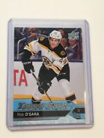 F63451  2016-17 Upper Deck #470 Rob O'Gara YG RC BRUINS