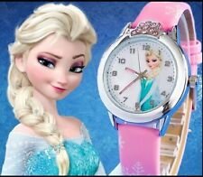 New Cartoon Children Watch Princess Elsa Anna Watches Fashion Girl Kids Student