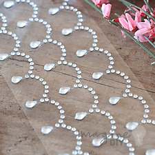 Venice Crystal Self Adhesive Stickers - Flat-back, Crystal, Gems