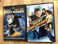 Agent Cody Banks 1 & 2 DVDs, Special Edition, Frankie Muniz, Hilary Duff, Fun!