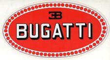 GRANDE ADESIVO STICKER ORIGINALE BUGATTI - Cm. 26 x 14