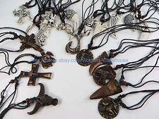 US Seller-100 pieces wholesale necklace lot hippie pendant necklaces $0.50/p