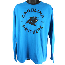 Nike Panthers Blue NFC South Long Sleeve Shirt Men's Size XL