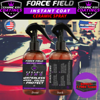 Force Field Ceramic King Polish Seal Shine Protect Armor Your Ride Amber Upgrade