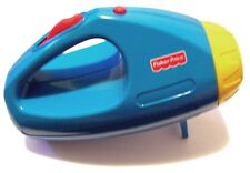RARE 1998 FISHER PRICE 72656 MATTEL FLASHLIGHT WITH HORROR SOUNDS & WALL IMAGES