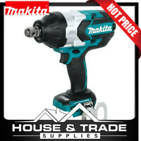 """Makita Brushless Impact Wrench Cordless 3/4""""Dr 18v Li-Ion DTW1001Z TOOL ONLY"""