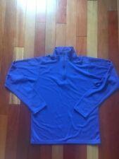 Boys Patagonia Capilene 3 Midweight 1/4 Zip Shirt, Size XXL (16-18), Blue/Black
