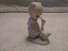 1989 Precious Moments 522910 Make A Joyful Noise Porcelain Figurine Ornament
