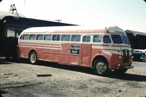 American Trailways CB&Q Burlington Fitzjohn Bus Kodachrome original Kodak Slide