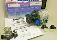 SHURFLO Trailking 30psi 10.6l/min 12volt   &  Shurflo Wing Nut Filter