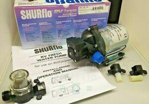 SHURFLO Trailking 30psi 10.6l/min 12volt   &  Shurflo Wing Nut Filter