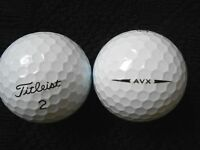 "10 TITLEIST  ""AVX"" - ""2018/19 MODEL"" Golf Balls - ""PEARL/A"" Grades."