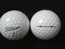 "20 TITLEIST  ""AVX"" - ""2018/19 MODEL"" Golf Balls - ""PEARL/A"" Grades."