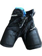Bauer 2000 Eishockey Hose blau und rot Inter
