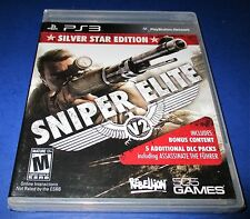 Sniper Elite V2 -- Silver Star Edition Sony PlayStation 3 *Sealed! *Free Ship!