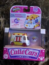 Shopkins Cutie Cars Popcorn Moviegoer #04 with Mini Shopkin Figure Pack