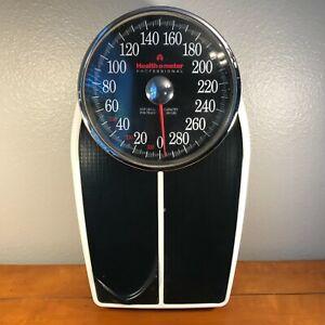 Vintage Health O Meter Professional Bathroom Scale Big Foot II 350 LBS Model 160