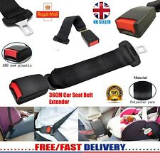 36CM ADJUSTABLE CAR AUTO SAFETY SEAT BELT SEATBELT EXTENSION EXTENDER BUCKLE NEW