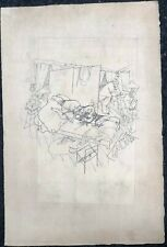 Sex Murder in the Ackerstrasse-Lithograph-from Ecce Homo-C.1912-George Grosz