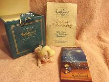 Disney WDCC Fantasia Flight of Fancy Ornament Cupid Figurine Walt Disney COA