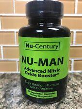 Nu-Century N-Man Advanced Nitric Oxide Booster 90 Vegetarian Capsules  Exp 12/19
