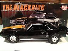 1:18 GMP ACME 1968 PONTIAC FIREBIRD The Blackbird limitée Edition 1 de 948