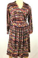 Vtg MISSONI Italy Nan Duskin Womens 44 Small Skirt Set Wool 2 pc Multi Colored