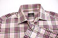ETON Herren Moderne Passform Freizeit Formell Hemd Größe 44 - 17 1/2 BAZ295