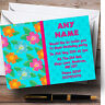 Floral Tiki Hawaiian Tropical Luau Personalised Birthday Party Invitations
