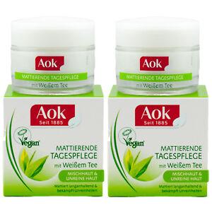 Aok TAGESPFLEGE -Mischhaut - Unreine Haut - gegen Unreinheiten 2 x 50ml