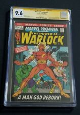 MARVEL PREMIERE #1 • CGC 9.6 • STAN LEE SIGNED • 1ST WARLOCK BY NAME • 3 EXIST!