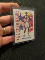 Michael Jordan 1992 Skybox Collector Card #534 USA Basketball NR Chicago Bulls