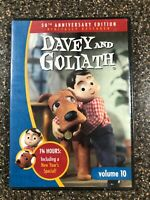 Davey and Goliath  Volume 10 DVD (2011) - New Factory Sealed - Free Shipping