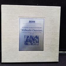 JOHANN SEBASTIAN BACH WEIHNACHTS ORATORIUM ARCHIV PRODUKTION BWV 248 LP 3 VINYL