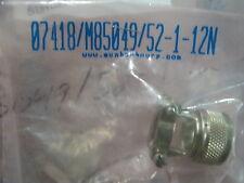 M85049/52-1-12N QTY 31 NEW FACT BAG NON SELF LOCKING SRS CIRCULAR STRAIN RELIEF